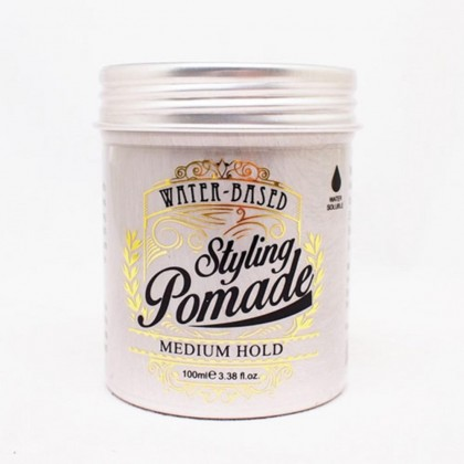 Olive Professional Styling Pomade Medium Hold Water Soluble 100ml wax