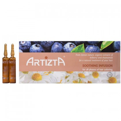 ARTIZTA Soothing Infusion Pre-Chemical Hair Treatment 12x 13ml Brown Ampoule