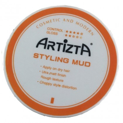 Artizta Hair Styling MUD 60g Ultra Matt Finish Rought Texture