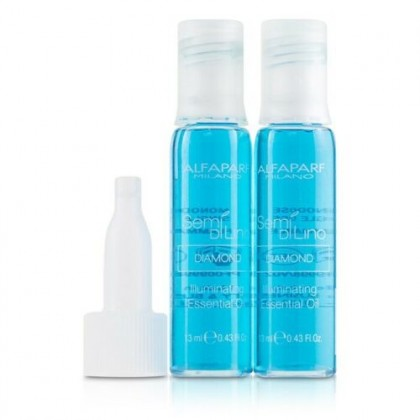 AlfaParf Blue ILLUMINATING Essential Hair Oil Treatment Repair Damaged Ampoule 13ml