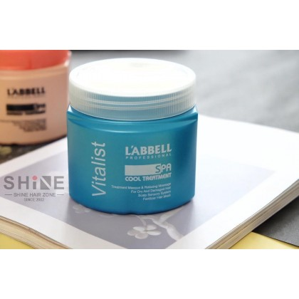 Labbell Vitalist Shampoo Relived Dandruff Scalp Therapy Cool SPA Treatment Mask oily itchy hair rambut kelimumur berminyak tudung cool shampoo