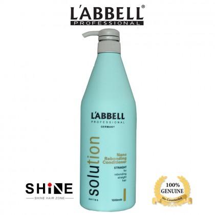 Labbell Solution Rebonding Hair Conditioner 1000ml suit for straightening hair lurus