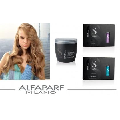 AlfaParf Blue ILLUMINATING Essential Hair Oil Treatment Repair Damaged Ampoule 12x13ml