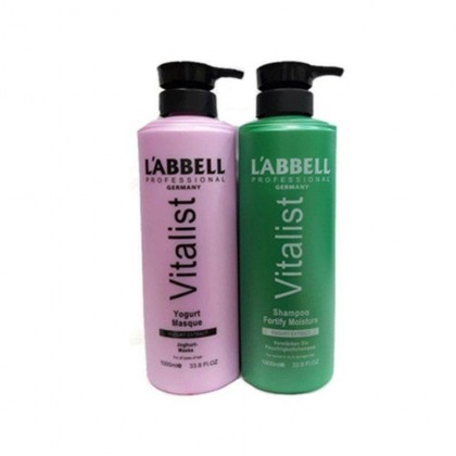 Labbell Moisture Shampoo Yogurt Hair Mask 1000ml