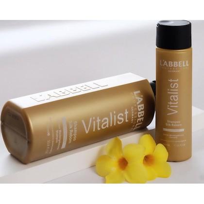 Labbell Vitalist Shampoo Silk Reborn Hair 1000ml iron lurus rambut ionic rebond rebonding straightening
