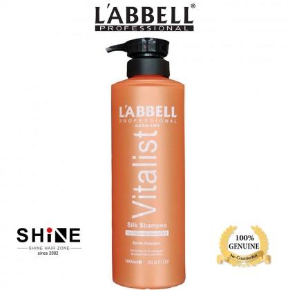 Labbell Vitalist Silk Shampoo 1000ml all hair type balance volume