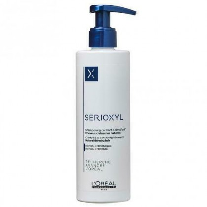 L'Oreal Loreal SERIOXYL Shampoo for Natural Thinning Hair 250ml