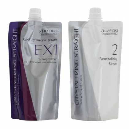 Shiseido Crystallizing Straightener EX1 Neutralizer Cream Rebond Hair Straight
