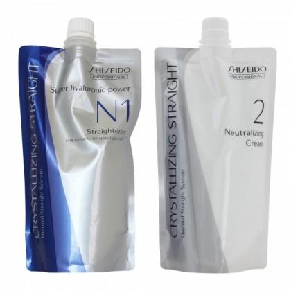 Shiseido Crystallizing Straight N1 Damaged Hair Lurus Rambut Rebonding