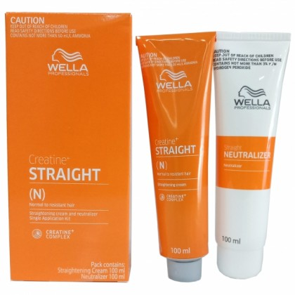 WellaStrate Hair Straight it Ubat Lurus Rambut Wella Labbell  Rebonding 100ml