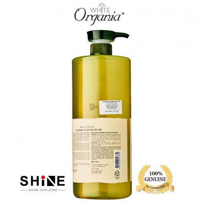 White Organia Aloe Vera 95% Hair Shampoo 1500ml KOREA