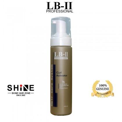 LB-II Professional Curl Activator 215ml wet look mousse foam curl bouncy hair