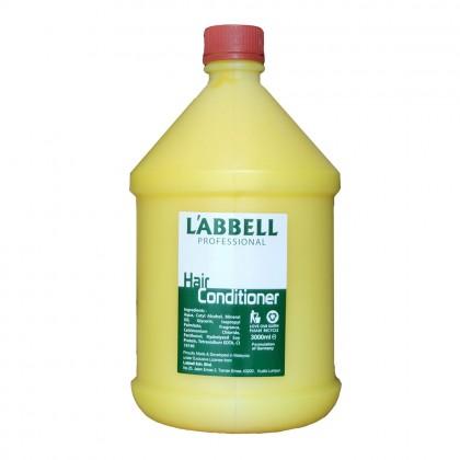 Labbell Gallon Hair Conditioner Yellow 3000ml Salon Hotel Airbnb