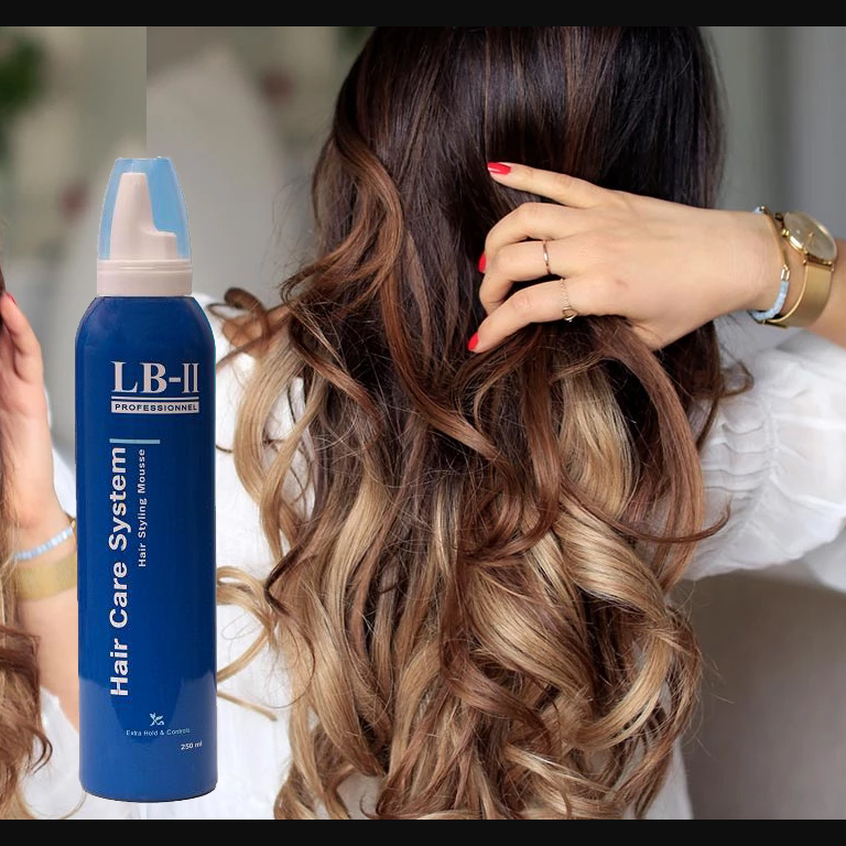 LB-II Hair Care System Hair Styling Mousse 250ml Pomade