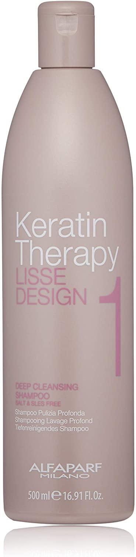 Alfaparf Keratin Therapy Lisse Design Deep Cleansing Shampoo 500ml
