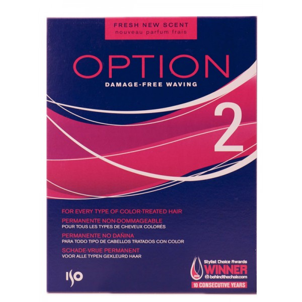 Shiseido ISO Option 2 Perm Lotion Curly Hair Every Type Of Color Treated Hair