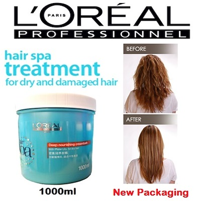 L'Oreal Loreal Hair Spa Deep Nourishing Creambath Rambut Treatment 500ml