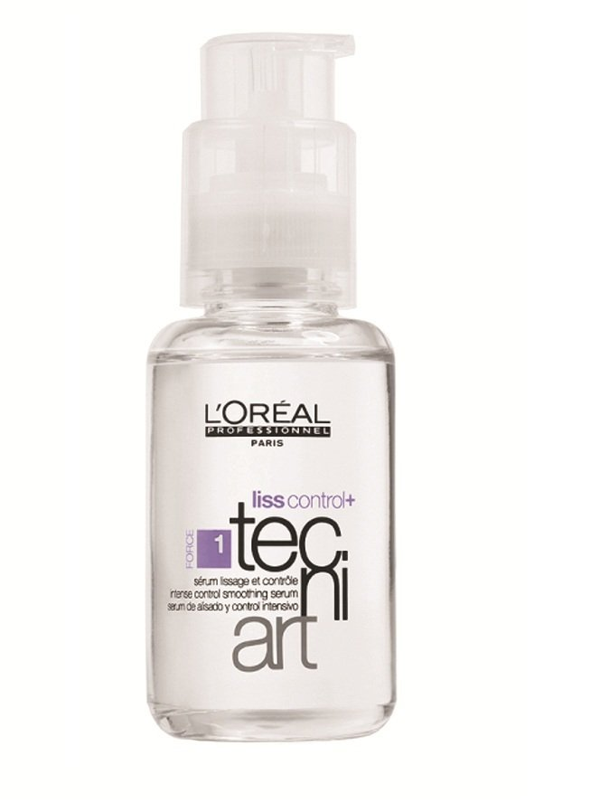 L'Oreal Loreal Tecni ART Liss Control Hair Smoothing Serum 50ml anti-frizz protection