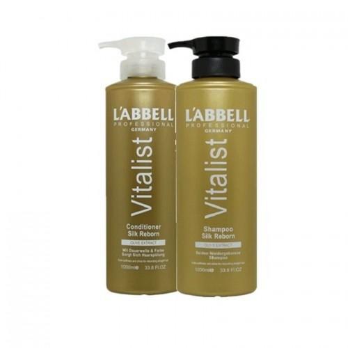 Labbell Silk Reborn Shampoo and Conditioner Professional Hair Dryer SET