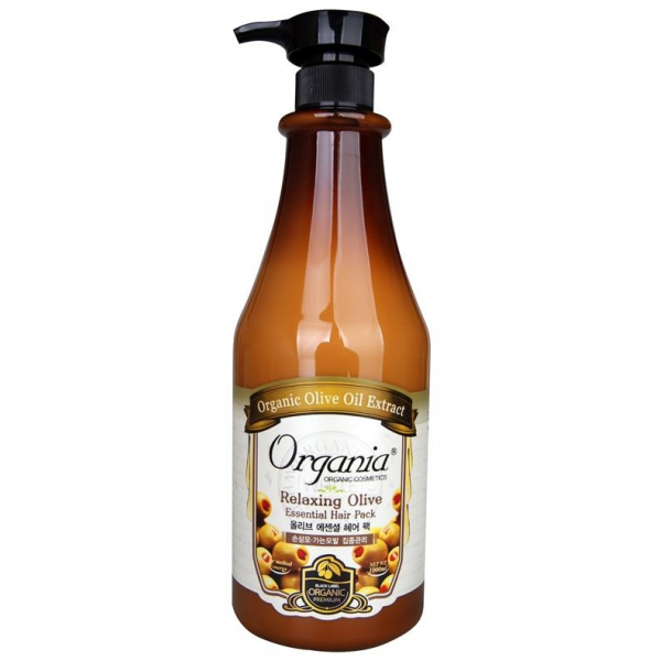 Organia Relaxing Olive Essence Hair Pack Conditioner 1000ml