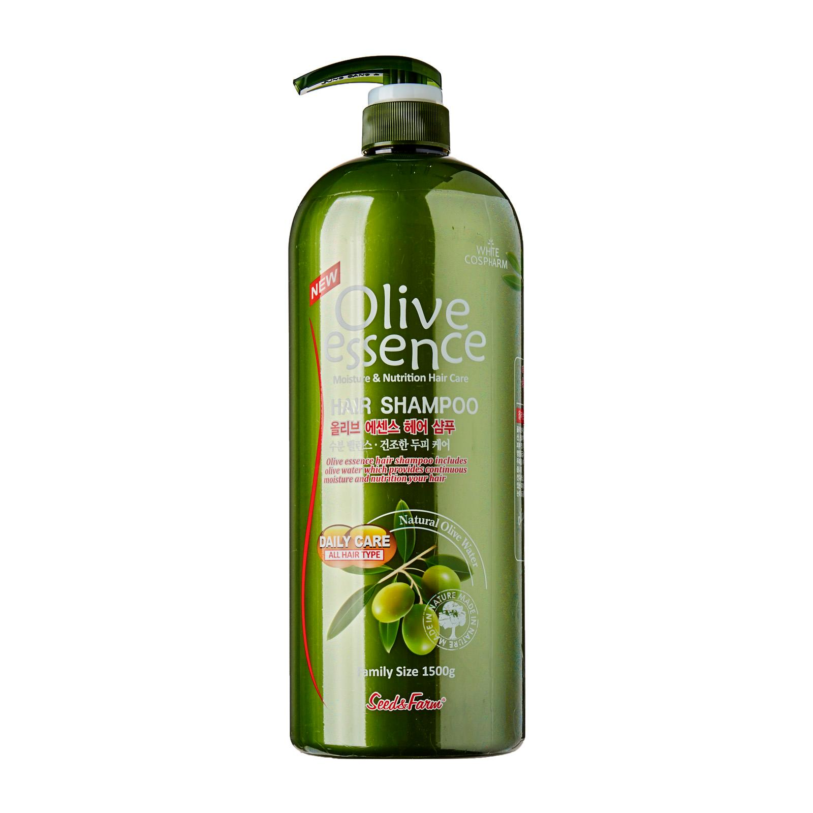 Seed Farm Olive Essence Hair Shampoo 1500ml KOREA